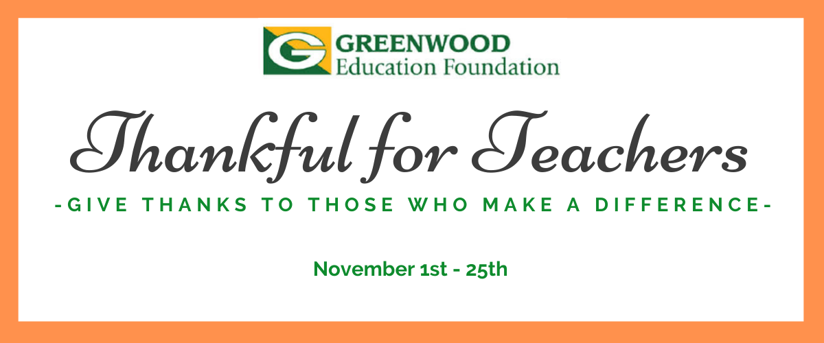 GEF Thankful for Teachers Campaign