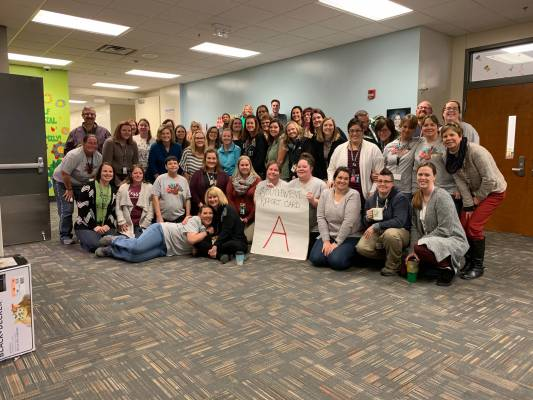 "Southwest Elementary Earns an ""A"""