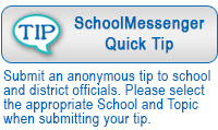 school messenger quick tip